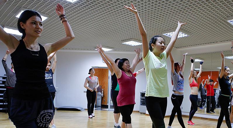 Танцы в Алматы
